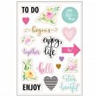 """Наклейки """"Enjoy life"""", 2шт."""