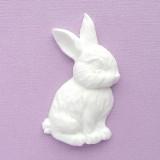 Кролик правый из пластика, 47*27мм