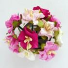 Гардения, розовые тона - 35-40мм (10шт.)