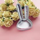 Роза открытая, светло-жёлтая - 25мм (10шт.)