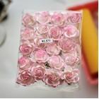 Роза шпалерная,  тон светло-роз./ слон.кость -  35мм (20шт.)