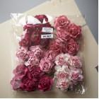 Роза коттеджная, розовые оттенки – 30мм (25шт.)