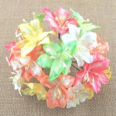 Лилия, пастельное цветное ассорти - 30мм (50шт.)