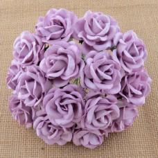 Роза Челси,  цвет лиловый – 35мм (25шт.)