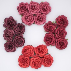 Роза шпалерная, тон красный – 40мм (20шт.)