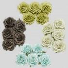 Роза шпалерная,  зеленые тона – 40мм (20шт.)