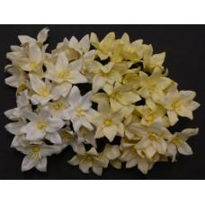 Лилия, тон бело-кремовый - 30мм (40шт.)