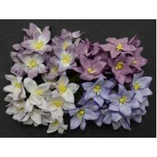 Лилия, тон пурпурно-лиловый - 30мм (40шт.)
