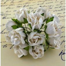 Дикая роза, белая - 20мм (50шт.)