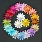 Цветочки плоские летние тона - 35мм (100шт.)