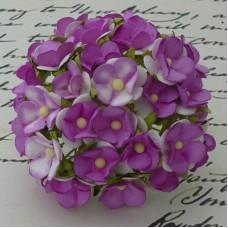 Цветочек фиолетово-сиреневый - 15мм (100шт.)