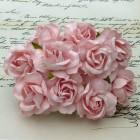 Дикая роза, бледно-розовая - 40мм (50шт.)