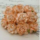 Дикая роза, тон персиковый - 40мм (50шт.)