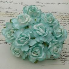 Дикая роза, тон «глубокая вода» - 40мм (50шт.)