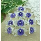Орхидея бело-сиреневая - 30мм (20шт.)
