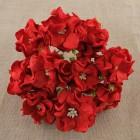 Гардения, цвет красный - 60мм (25шт.)