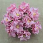 Гардения, цвет светло-розовый - 35мм (25шт.)
