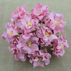 Гардения, цвет светло-розовый - 60мм (25шт.)