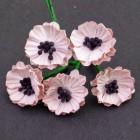 Мак, цвет бледно-розовый - 20мм (50шт.)
