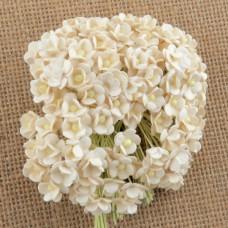 Цветочек мини, цвет белый - 10мм (100шт.)