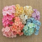Цветочек мини, микс из пастельных тонов - 10мм (100шт.)