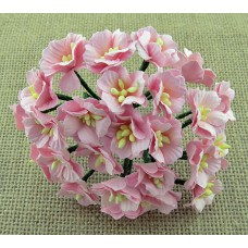 Цветок яблони, цвет светло-розовый - 25мм (50шт.)
