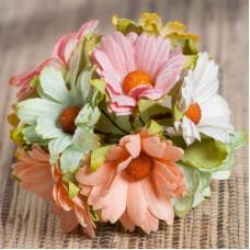 Хризантема, цветное ассорти - 45мм (50шт.)