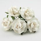 Дикая роза, белая - 30мм (50шт.)