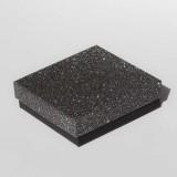 """Коробочка ювелирная """"квадрат"""", чёрная, 9*9*2,5"""