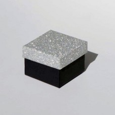 "Коробочка ювелирная ""квадрат"", серебро, 5*5*3,5"