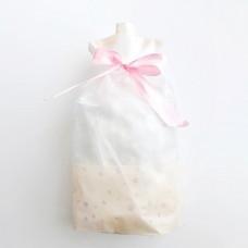 Пакет, пластиковый, персиковый, 10шт, 23,5*17,5*15