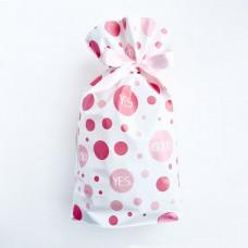 Пакет, пластиковый, розовый, 10шт, 23,5*17,5*15