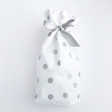 Пакет, пластиковый, серебро, 10шт, 23,5*17,5*15