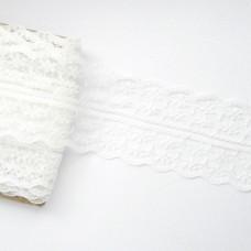 Кружево тонкое белое 45мм