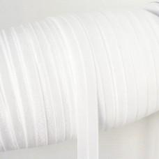 Резинка однотонная белая 15мм
