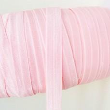 Резинка однотонная светло-розовая 15мм
