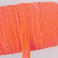 Резинка однотонная неоново-оранжевая 15мм