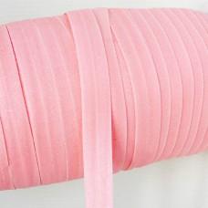Резинка розовая с блёстками 15мм