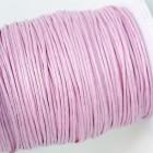 Вощеный шнур розовый 1мм