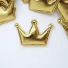 """Украшение """"Корона"""" золотая 35*50мм"""