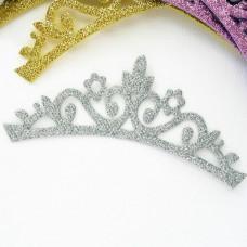 "Украшение ""Корона"" серебро 43*130мм"