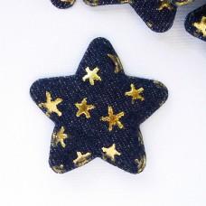 """Украшение """"Звезда"""" звезды синяя 45*45мм"""