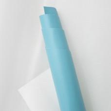 Искусственная кожа, голубой, 50*35см
