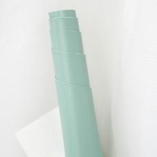 Искусственная кожа, дымчато-бирюзовый, 50*35см
