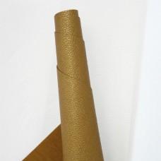 Искусственная кожа, мелкая текстура, золото, 50*35см
