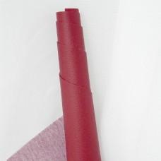 Искусственная кожа, мелкая текстура, красный, 50*35см