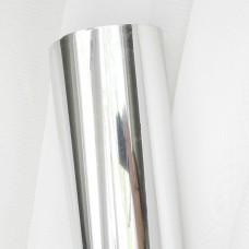 Термотрансферная плёнка, зеркальная, серебро, 25*25см