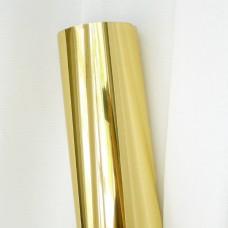 Термотрансферная плёнка, зеркальная, золото, 25*25см