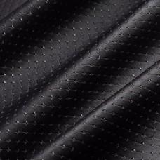 Искусственная кожа, каретная стяжка, чёрный, 50*35см
