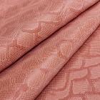 Искусственная кожа, текстура питон, персик, 50*35см